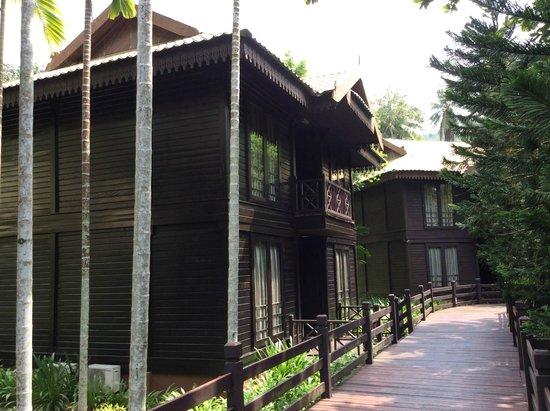 The Taaras Beach & Spa Resort : Garden Suite building