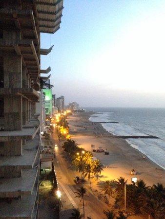 Hotel Capilla del Mar: Caribbean Sunset at Capilla del Mar
