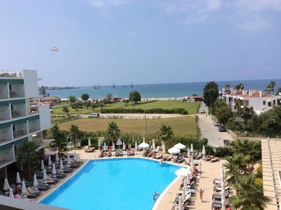 Barut Andiz Sensimar: view from our balcony