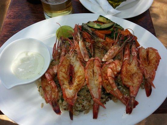 Ocean Restaurant: Chilli prawns