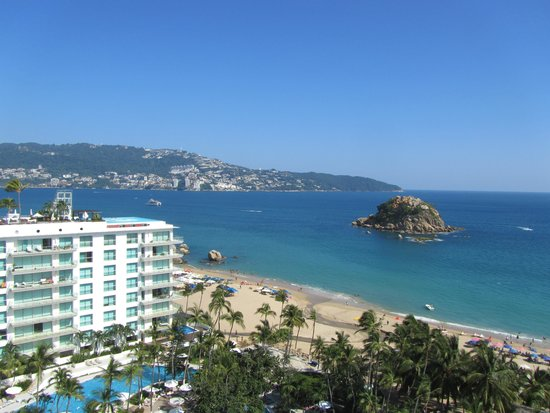 Emporio Acapulco Hotel: View from my room