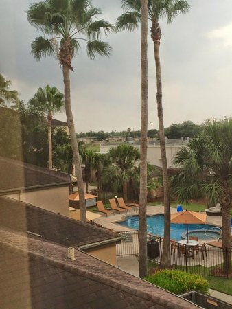 Courtyard By Marriott: view from my room