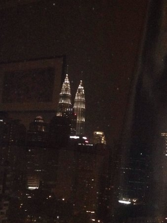 "Royale Chulan Bukit Bintang: View of the twin tower from my room 15th floor room number ""1501"""