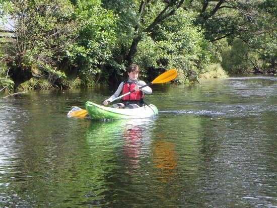sit on top kayaks on the upper river derwent picture of. Black Bedroom Furniture Sets. Home Design Ideas