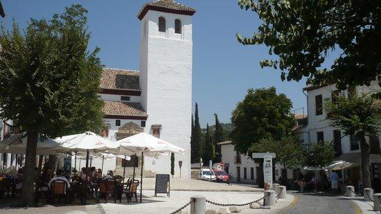 Albayzin: plaza