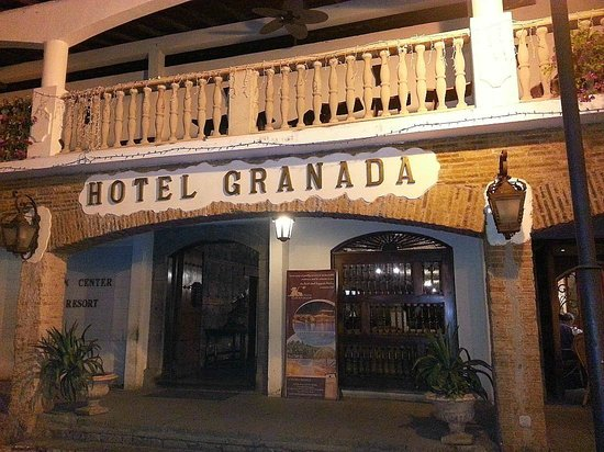 "Hotel Granada: Hotel ""Granada"", the main entrance"