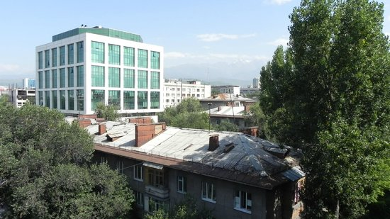 Kazzhol : View from the room (6th floor)