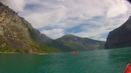 Active Geiranger: en kayak sur le fjord