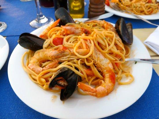 Finikia Memories: delicious seafood spaghetti