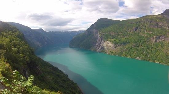 Active Geiranger: Vue du fjord après la rando (30-40min)