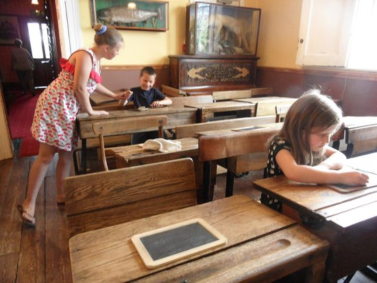 Milton Keynes Museum: You'll find some are born teachers!