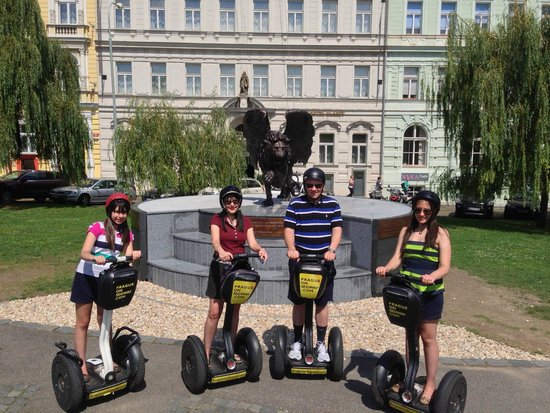Prague On Segway, on E-Scooter, on Quad : One Day in Prague on Segway