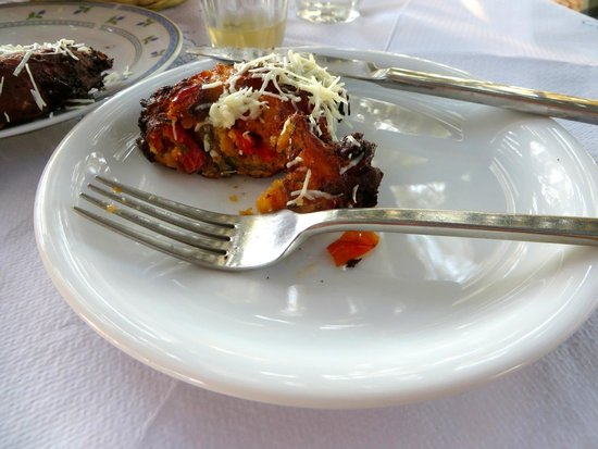 Santorini Mou: delicious tomato fritters