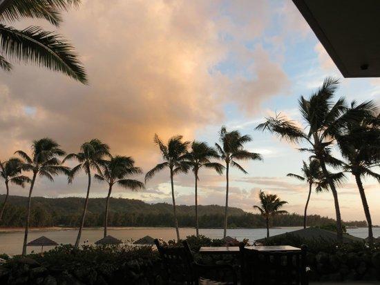 Turtle Bay Resort: Sunset view