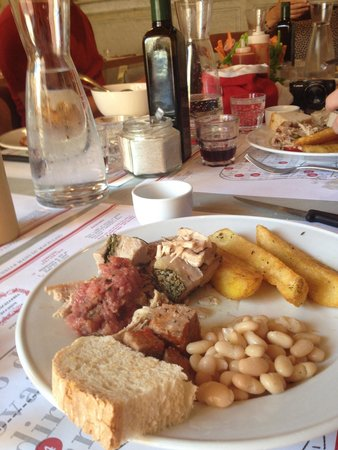 Tuscan Wine Tours by Grape Tours : Butcher Meal