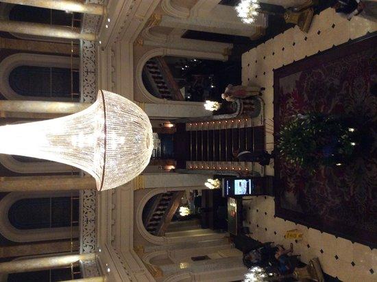 The Grosvenor Hotel: Reception