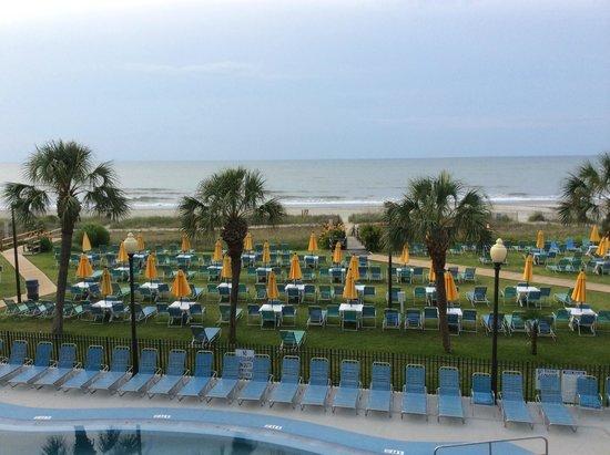 Dayton House Resort: Вид из номера