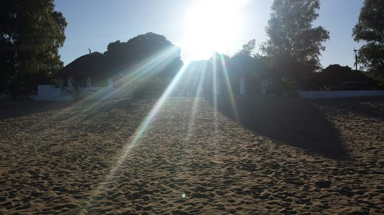 Fish Eagle Bay Lodge: Sunset at Fish Eagle as seen from the beach...