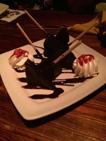 Cafe Tu Tu Tango: S'mores on a Stick Dessert