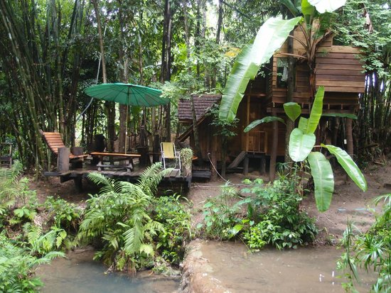 Rabeang Pasak Tree House Resort : treehouse