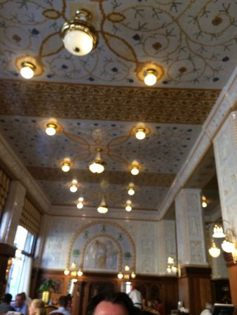 Art Deco Hotel Imperial : Speisesaal