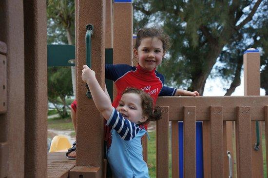 Shelly Bay Beach: play area