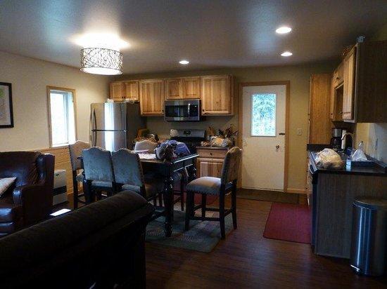 McKinley Creekside Cabins : Kitchen in Carlos cabin