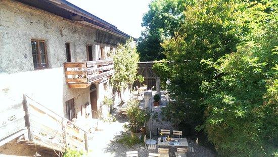 Pritzlwirt: Terrace