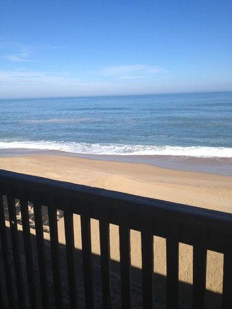 Cape Hatteras Motel: view from the balcony