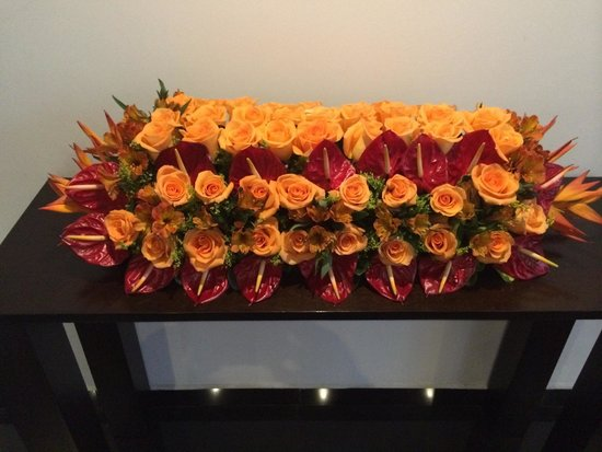 Mercure Hotel Alameda Quito : Fresh flowers throughout