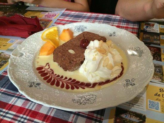 Wistub Zum Pfifferhus: Chocolate Mousse