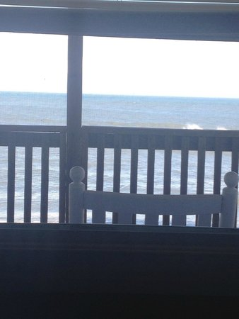 Cape Hatteras Motel: view from bed