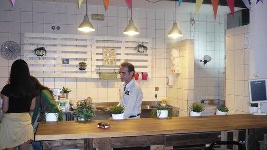The Boutike Hostel: kitchen
