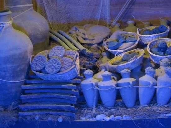 National Archaeological Museum: Model wreck