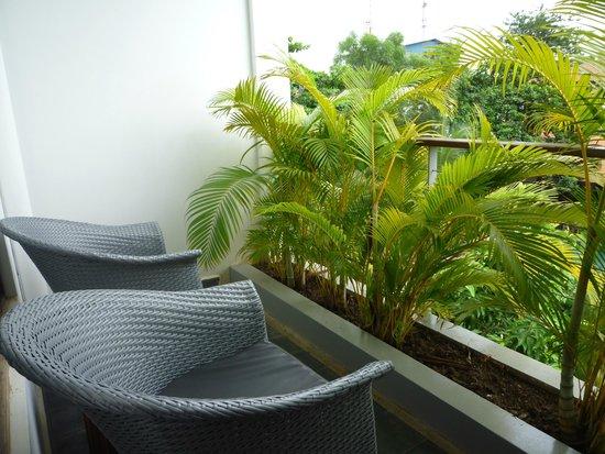 The Plantation Urban Resort and Spa: Balcon