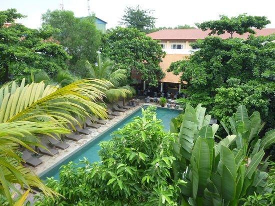 The Plantation Urban Resort and Spa: Vue de la chambre
