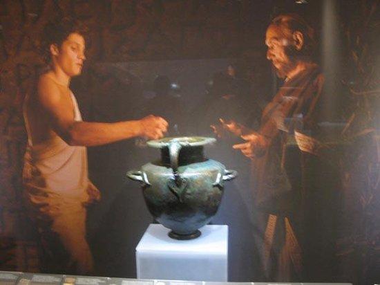 Musée d'art cycladique : Exhibit