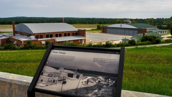 Tuskegee Airmen National Historic Site: Moton Field today and yesterday