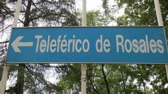 Teleferico : O passeio começa em Parque del Oeste
