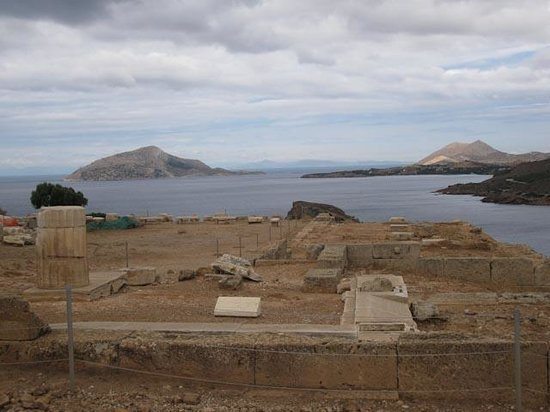 Temple of Poseidon : The view