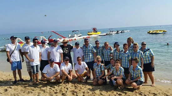 Constantinos the Great Beach Hotel: Management team and Thomas Cook Reps