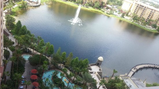 Wyndham Bonnet Creek Resort : Stunning View
