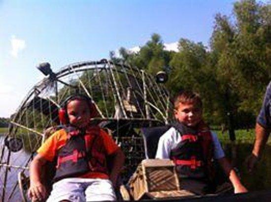 Atchafalaya Basin Landing & Marina- Swamp Tours: Airboat