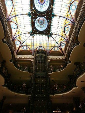 Gran Hotel Ciudad de Mexico: Teto do hotel