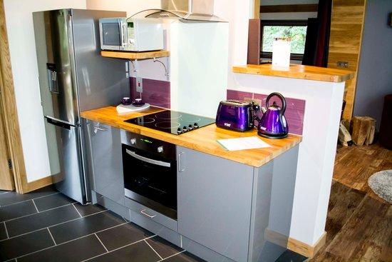 Forest Holidays Sherwood Forest, Nottinghamshire: kitchen