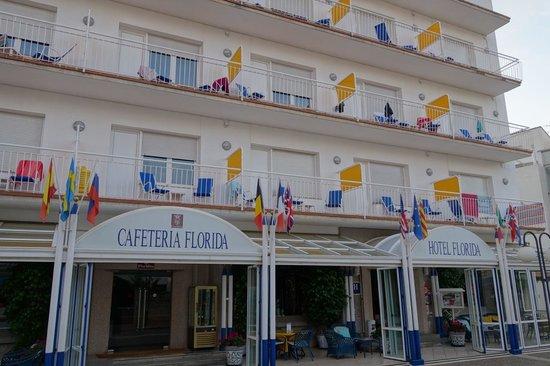 Hotel Florida : Hotel balconies