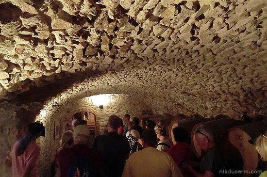 Peratallada, España: Wine cellar