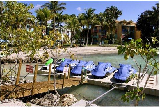 Canella Beach Hotel-Restaurant : Base de jets skis à l'hôtel Canella Beach