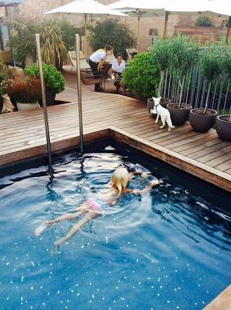 Mercer Hotel Barcelona: Coolest pool in Barca ?