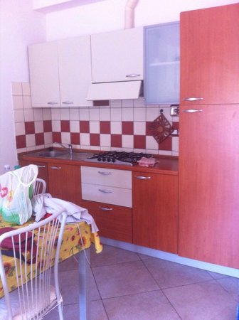 Residence le Rose: Monolocale cucina